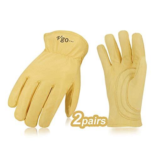 goatskin gloves insulated - 3