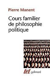 livre Cours familier de philosophie politique