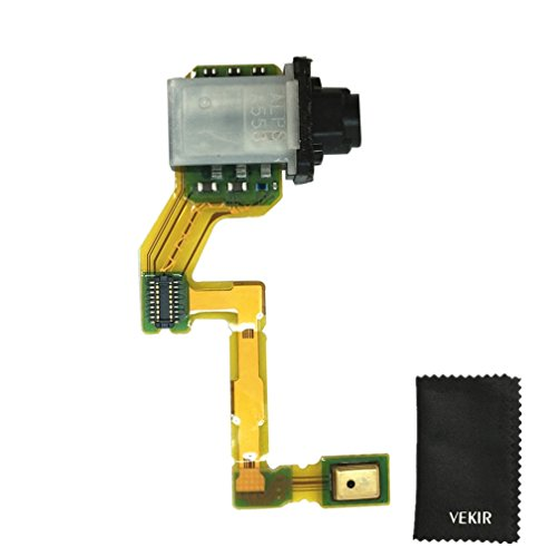 VEKIR Puerto para audífonos Flex sustitución de Cable de Altavoz Compatible con...