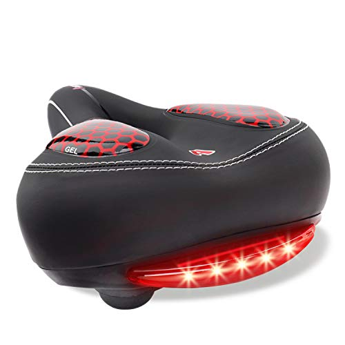 AngLink Bike Seat w/LED Taillight and Absorbing Rubber Balls Only $10.49 (Retail $20.99)