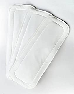 Bumberry Wet-Free Microfiber Inserts -3 Piece Pack (White)