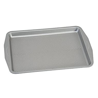 USA Pan 1050HS-2-ABC American Bakeware Classics Half Sheet Baking Pan, Aluminized Steel