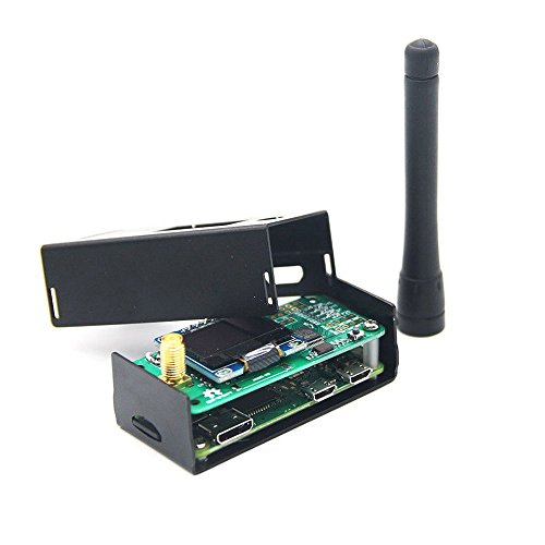 Hima MMDVM Hotspot Estación de Radio WiFi Digital Voice Modem P25 DMR YSF + OLED + Antena + Funda + Raspberry Pi