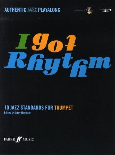 I Got Rhythm - 10 Jazz Standaarden voor trompet - Bladmuziek, CD