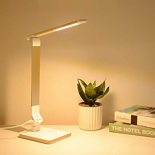 BRTTHYE 8W opvouwbare led-vloerlamp moderne aluminium touch-schakelaar dimmer kantoordecoratie werkkamer verlichting tafellamp