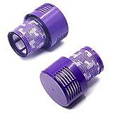 LZH FILTER Paquet de 2 Filtre de Remplacement Lavable Compatible avec l'aspirateur...