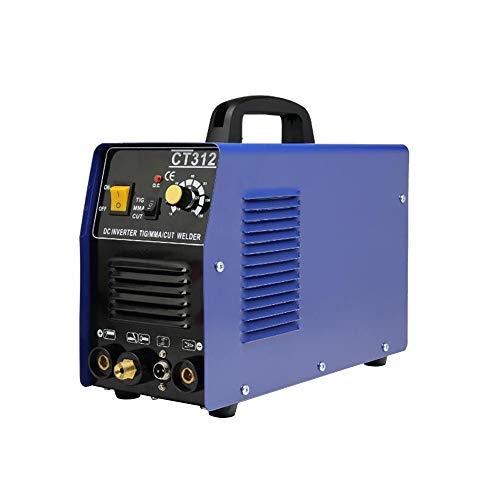 TIG/MMA Air Plasma Cutter Welder 3 in 1 Combo Welding Machine CT312 Tig Welder 120A Arc Welder 120A Plasma Cutter 110V (Shipping From USA)