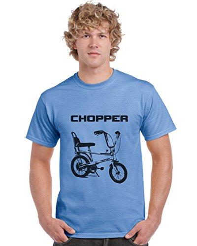 Men's Raleigh Chopper T-shirt, blue or orange - S to 3XL