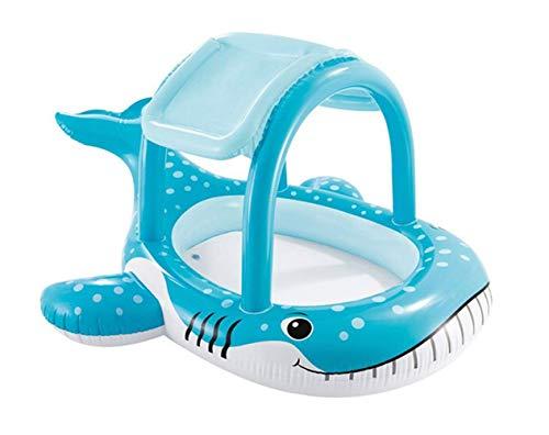 Thole Piscine Gonflable Deluxe Parasol De Baleine éPaississement Familiale Petits Enfants Bathtub Jardin ExtéRieur 211x185x109cm