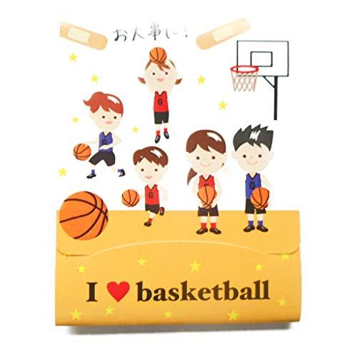 バスケ グラシアス バスケ好きのための携帯用ばんそうこう(4枚入)