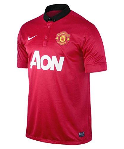 Manchester United 2013/2014 Maglietta da Casa Uomo, M