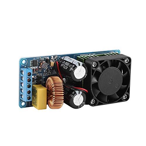 Wendry Amplifier Board Module,IRS2092S 500W Mono Channel Digital Amplifier Board Class D HiFi Power Amplifier Board Speaker Protection