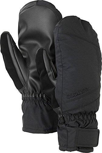 Burton Men's Insulated, Warm, and Waterproof Profile Under Mitten with Touchscreen, True Black, Small