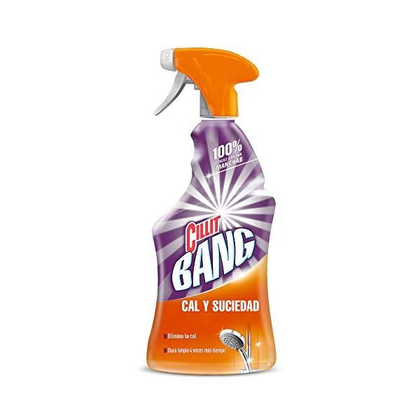 Cillit Bang – Spray Limpiador Cal y Suciedad, para Baño, 750 ml