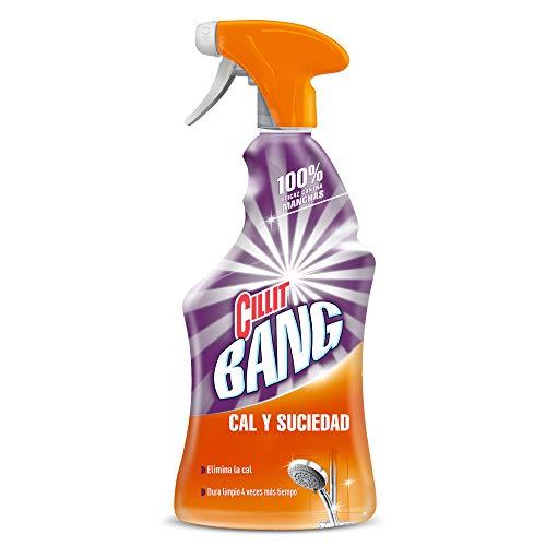 Cillit Bang - Spray Limpiador Cal y Suciedad, para Baños - 750...