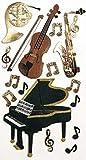 Artoz Artwork 3D Motiv-Sticker 185590-05,'Musikinstrumente klassisch, handmade(1)