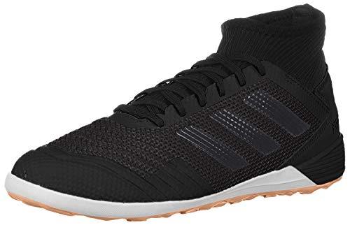 adidas Men's Predator 19.3 Indoor Soccer Shoe, Black/Black/Gold Metallic, 9.5 M US