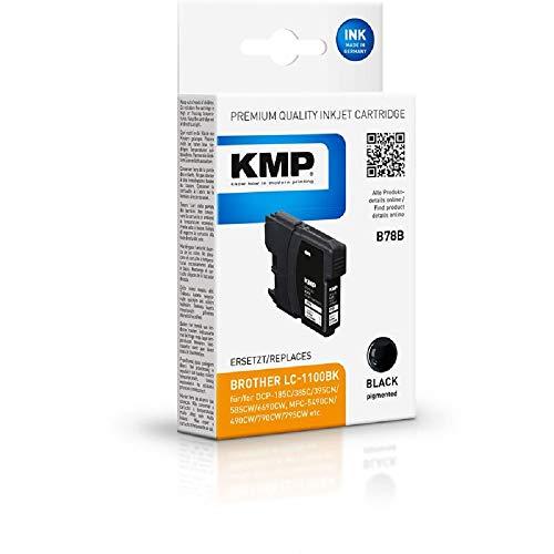 KMP B78B Ink Cartridge Black Compatible w. Brother LC-1100 BK Marca KMP