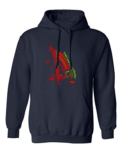 RIVABELLA Premium Tee The Low End Theory Novelty Mens Hoodie Hooded Sweatshirt Navy