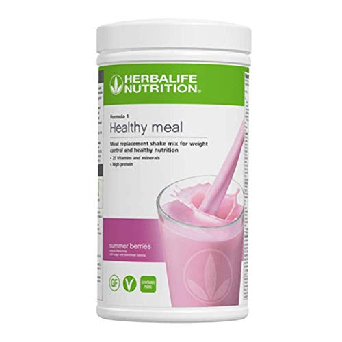 Herbalife Summer Berries Shake Mix 550g Nutrition Healthy Meal Protein Nutritional Formula 1