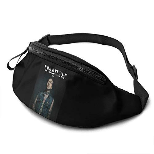 AOOEDM Yelawolf Actividades al Aire Libre Riñonera Fitness Sports Riñonera Sports Messenger Bag Bolsa de Pecho
