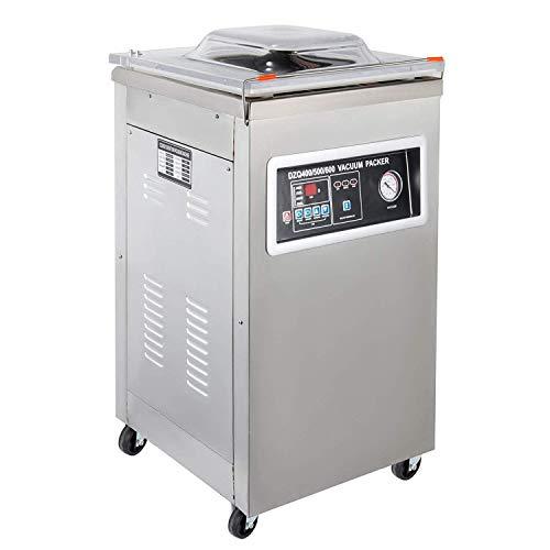 Mophorn Empaquetadora de Vacío Comercial DW-400 Profesional Sellador al Vacío
