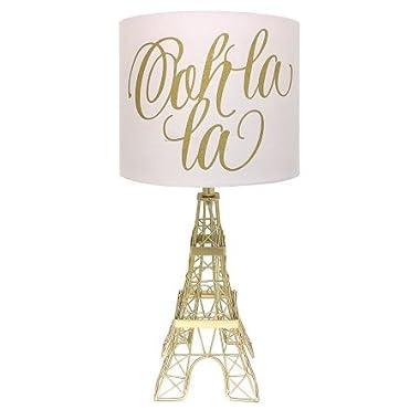 Eiffel Tower Bon Voyage Lamp