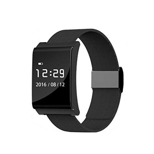 YAMMY Tragbarer Aktivitäts-Tracker, Fitness-Armband, X9 Plus Bluetooth 4.0 LED Smart Armbanduhr Armband Sportuhren