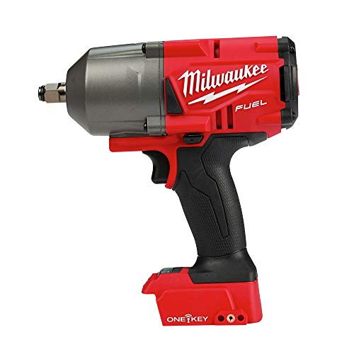Milwaukee M18 FUEL w/ONE-KEY 18-Volt Lithium-Ion Brushless Cordless 1/2 in. High Torque Impact Wrench w/Friction Ring