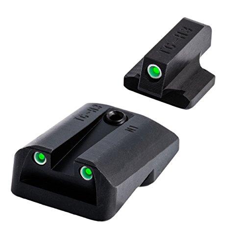 Tritium Handgun Glow-in-the-Dark Night Sights for 1911 Pistols, 270 Front / 450 Rear