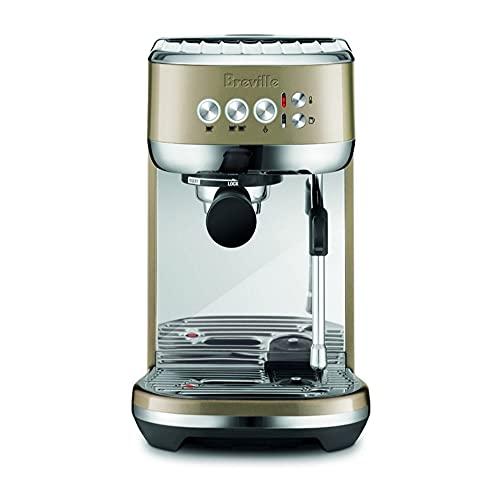 Breville Bambino Plus Espresso Machine (Royal Champagne)