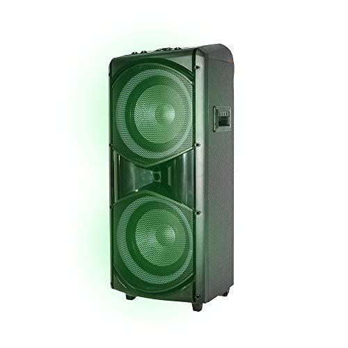 Monitor Altavoz inalámbrico BT Giant con Luces LED micrófono y Mando a Distancia 33179