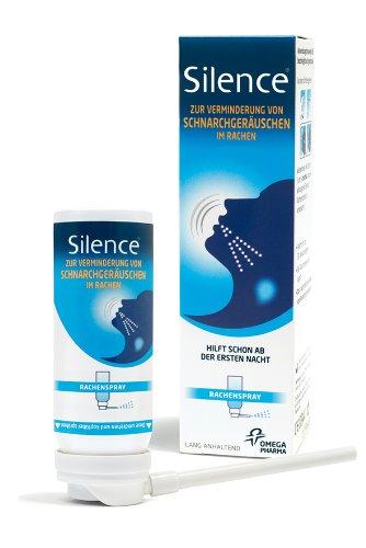 Silence Rachenspray, Verminderung von Schnarchgeräuschen, 50 ml, 1er Pack (1 x 50 ml)