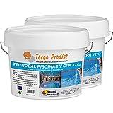 Tecno Prodist TECNOSAL Piscinas y SPA Pack 2 x 12 kg - Sal Especial para la cloración Salina de Piscinas, SPA y Jacuzzis - En Cubo Fácil Aplicación