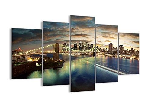 Cuadro sobre Vidrio - Cuadro de Cristal - 5 Piezas - 150x100cm - Foto número 0226 - Listo para Colgar - Pinturas en Vidrio - Impresiones sobre Vidrio - Cuadro en Vidrio - GEA150x100-0226