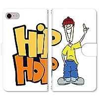 スマホ スマートフォン 手帳 スマホケース HIPHOP BOY 【4042_HIPHOP BOYイエロー|AQUOS EVER SH-02J】