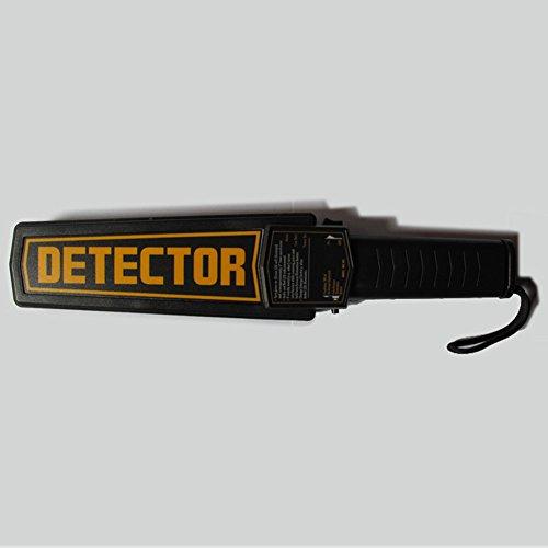 Generic Metaldetector Supper précis à main levée à ongles détecteur de métaux portable Sécurité sensibles scanner vibrations Alerte vocale