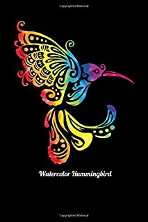 Watercolor Hummingbird: Fishing Log Book And Journal For A Fisherman Or For Kids To Record Fishing Trips And Experiences of e.g. Bass Fishing Or Fly Fishing (6 x 9; 120 Pages)