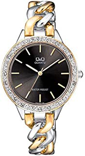 Q&Q Dress Watch For Women Analog Stainless Steel - F549-402