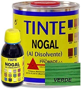 Promade - Tinte al disolvente para teñir la madera. Tonos de madera y colores vivos y modernos (750 ml, Caoba)
