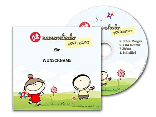 Namenslieder-CD - Personalisierte Kinderlieder gesungen mit dem Namen des Kindes