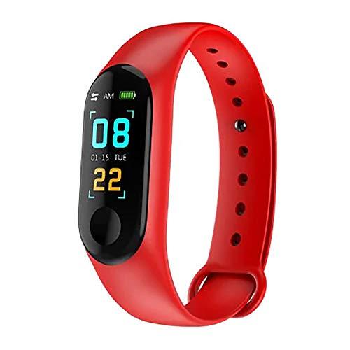 Sttoce Intelligente Fitness-Tracker-Uhr, Schrittzähler/Kalorien- / Schlafmanagement/Herzfrequenz Erkennung, Bluetooth 4.0-Fitnessarmband für iOS/Android