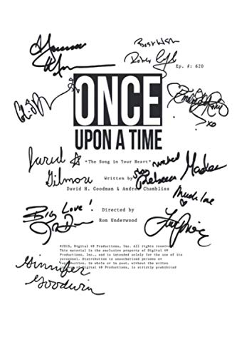 Once Upon A Time Notebook: Ouat Script 620 (110 Pages, Lined, 6 x 9)