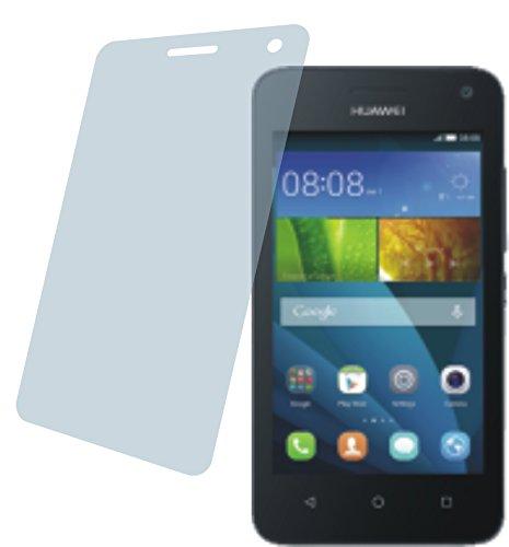 4ProTec I Huawei Y3 (2 Stück) Premium Bildschirmschutzfolie Displayschutzfolie ANTIREFLEX Schutzhülle Bildschirmschutz Bildschirmfolie Folie