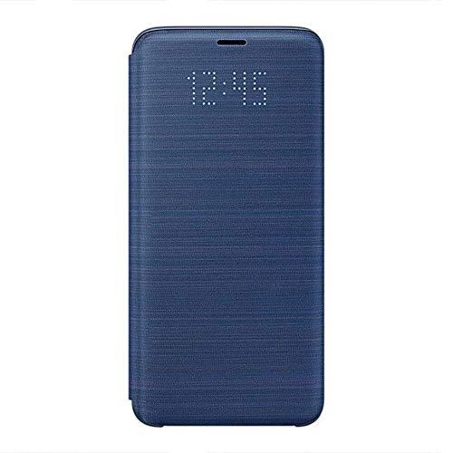 Samsung EF-NG960PLEGWW Galaxy S9 Etui folio LED View Cover Samsung EF-NG960PL bleu pour Galaxy S9