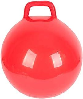 POPETPOP 2Pcs Ile Kabarık Topu Kolları Çocuklar Zıplatma Top Şişme Hazne Top Atlama Çocuklar Top Atlama Hazne Top ( Kırmızı )