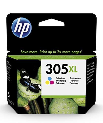 HP 305XL Original Cian, Magenta, Amarillo 1 pieza(s) - HP 305XL, Original, Tinta de colorante, Cian, Magenta, Amarillo, HP, HP DeskJet 1200, 2300, 2700, 2730, 2755, 4100, 4134, 4155 / HP ENVY 6020,