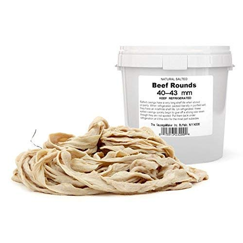 The Sausage Maker - Natural Beef Rounds 40-43mm (1 5/8'-1 3/4')