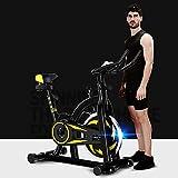 HSJ Bicicleta EstáTica para Interiores, Ciclismo, Bicicleta