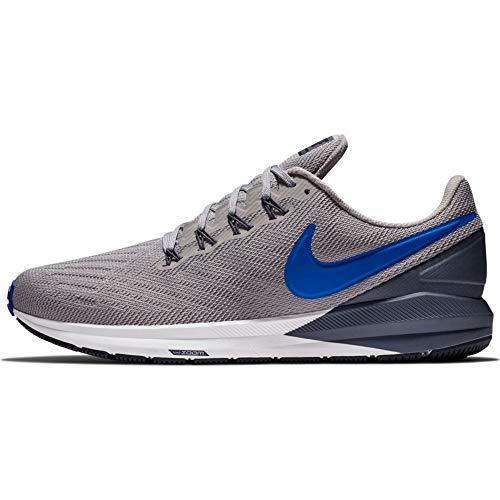 Nike Air Zoom Structure 22, Zapatillas de Running para Hombre, Multicolor (Atmosphere Grey/Hyper Royal/Light Carbon 003), 42.5 EU